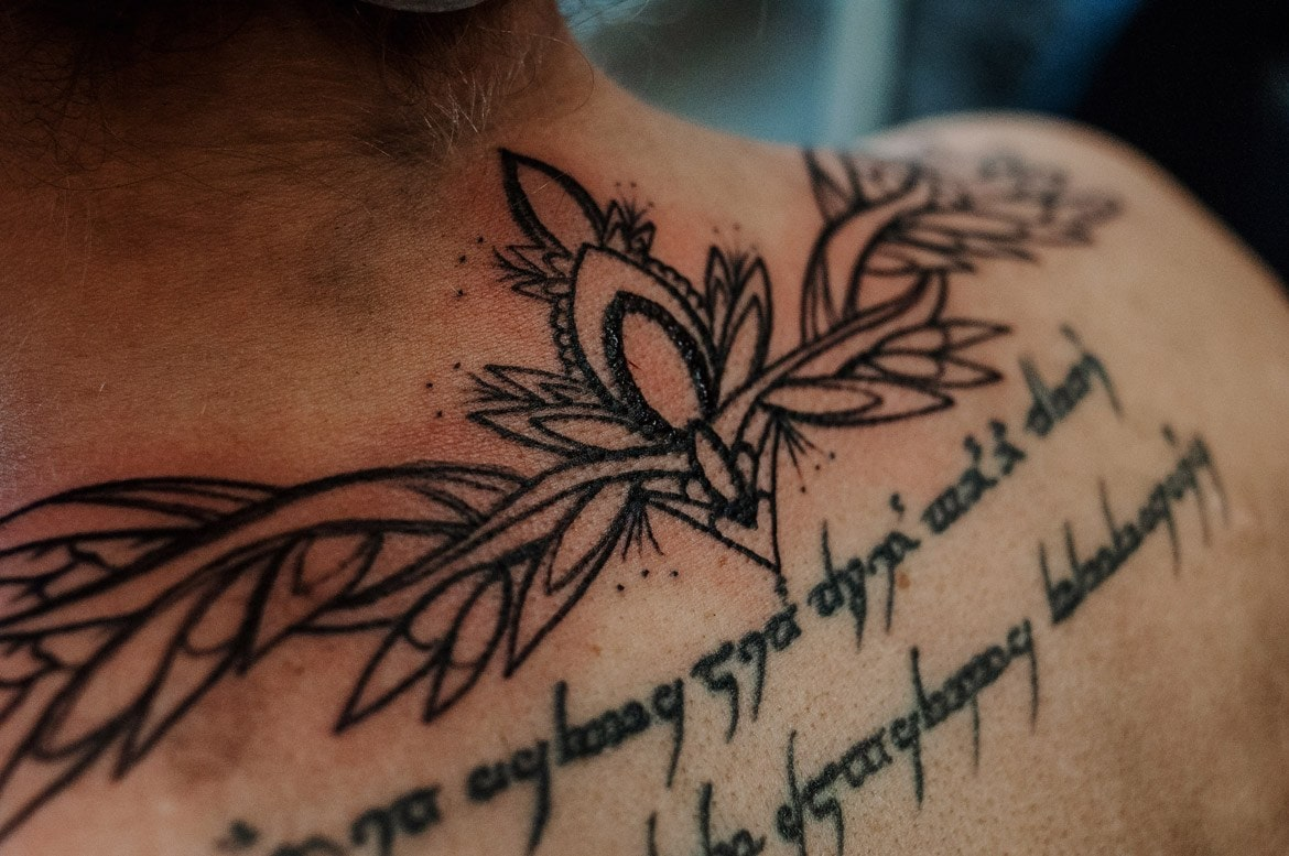 wladca pierscieni tatuaz